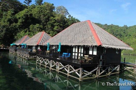 Gayana Marine Resort: 房間外觀