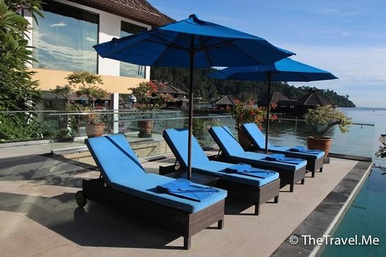 Gayana Marine Resort: 泳池算是不錯