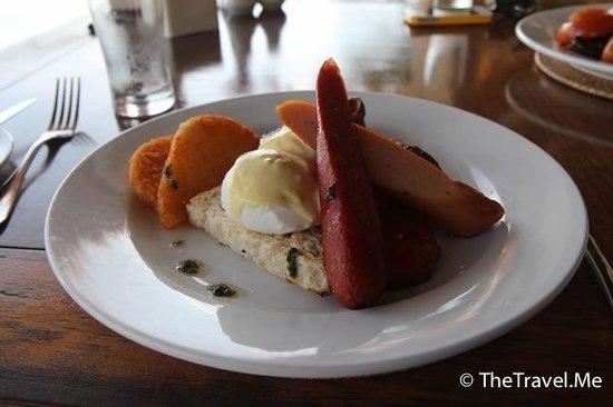 Gayana Marine Resort: 早餐豐富,味道也好