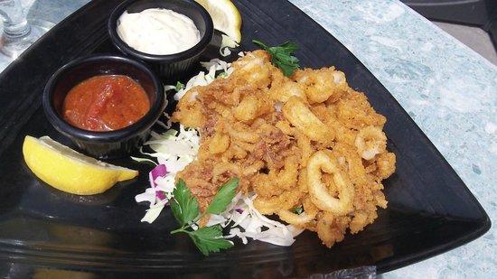 Chuckanut Manor Restaurant: Calamari