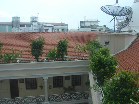 Grand Hotel Saigon : View from room at The Grand, HCMC