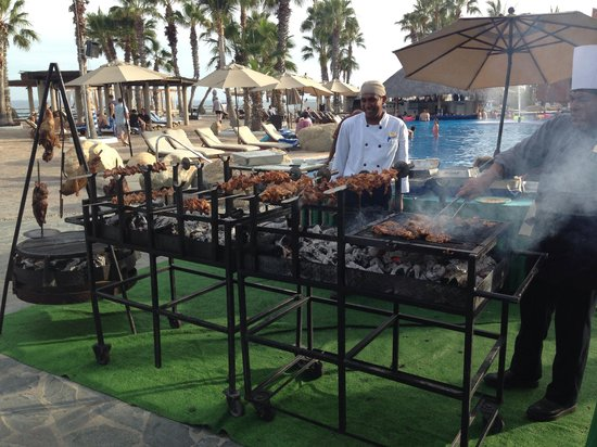 Paradisus Los Cabos : Brazilian BBQ night
