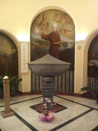 Al San Biagio : La tomba del Beato Allegra in San Biagio Acireale