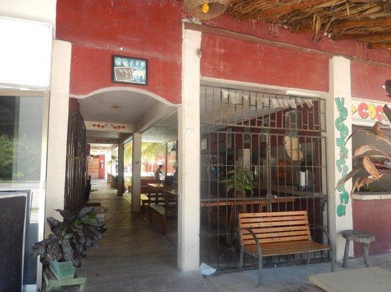 Chalupa Hostal: entrada