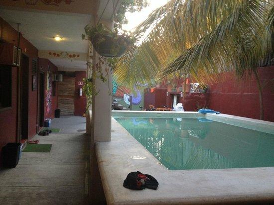 Chalupa Hostal: piscina
