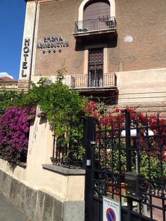 Hotel Emona Aquaeductus : aussenansicht