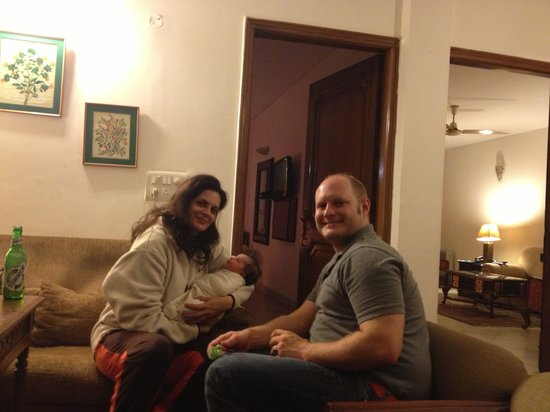 Tej Abode: Our precious guests  Nathan and Asher