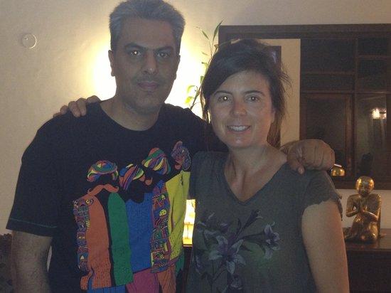 Tej Abode: Vikram and Jen