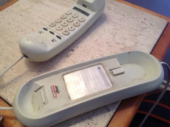 Hotel Emona Aquaeductus : zimmertelefon