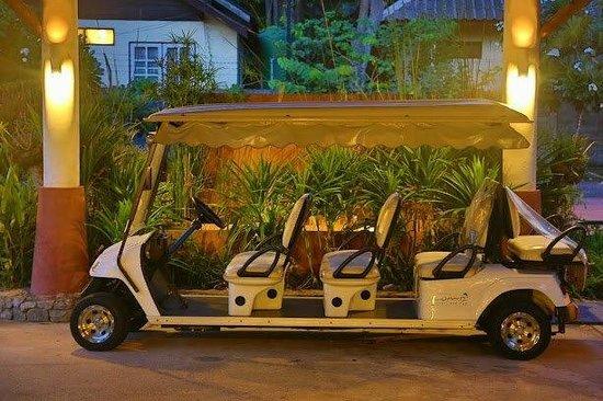 Loma Resort & Spa : Shuttle Car