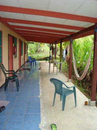 Hotel Rancho Corcovado: vor dem Zimmer