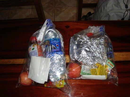 Hotel Rancho Corcovado: Lunchpacket für zwei Erwachsene