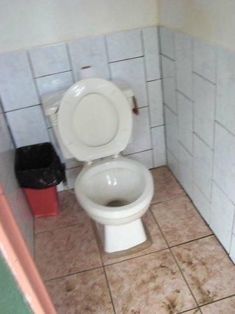 Hotel Rancho Corcovado: WC beim Restaurant