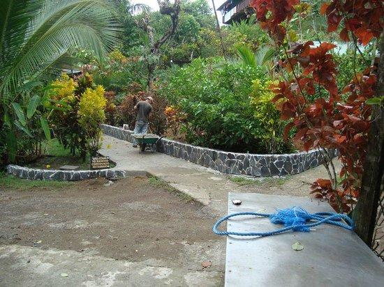 Hotel Rancho Corcovado: Weg zum Strand