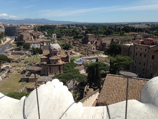 Complesso del Vittoriano: View To The Forum