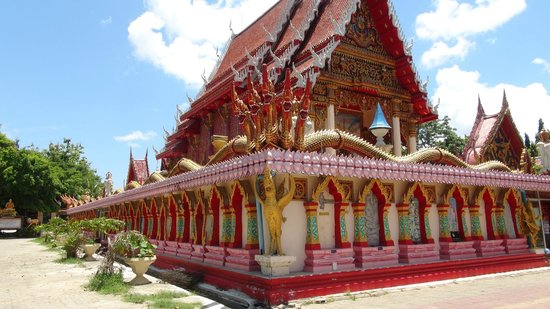 Tha Rua Shrine: View of tempel from outside