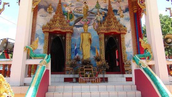Tha Rua Shrine: Main front doors into tempel