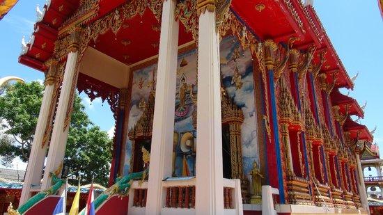 Tha Rua Shrine: Front of Tempel