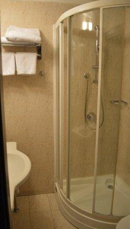 Egnatia Palace: shower/bathroom