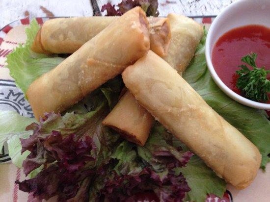 Warung Yuti : Vegetables Springroll from scracth
