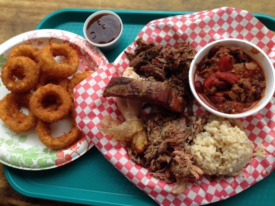 Chicken In A Barrel BBQ: The Sampler