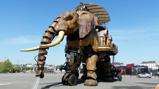 Les Machines de L'ile : l'elephant
