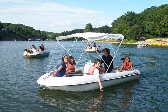 base de loisirs nautisme et plein air mervent