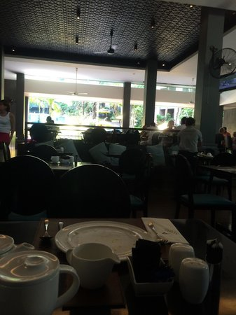 Novotel Phuket Kata Avista Resort and Spa : Where we had breakfast