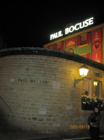 Restaurant Paul Bocuse : Вид на ресторан