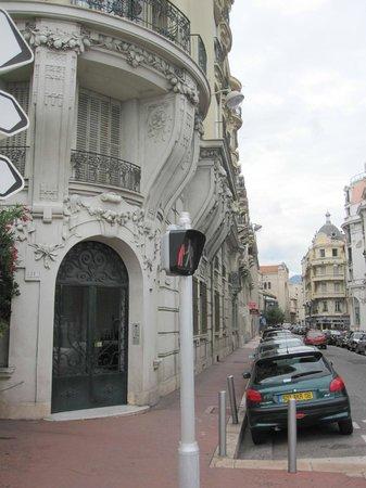 Promenade des Anglais : Улица
