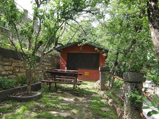 Mountain Trail Resort: garden area