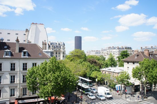 Hotel du Lion: вид