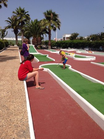 Hotel Floresta: Mini club golf day :)