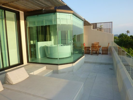InterContinental Samui Baan Taling Ngam Resort: 1 Bedroom Panoramic Suite Balcony