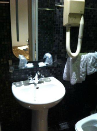 Hotel du Bresil: La salle de bains