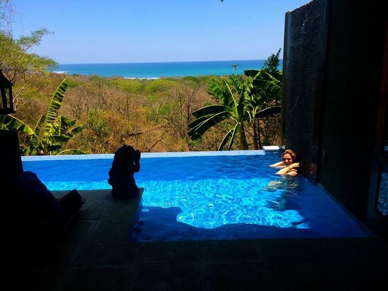 Casa Chameleon: We loved our private pool!