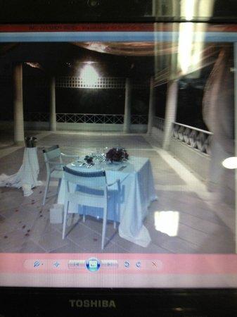 Hotel Las Américas Casa de Playa : Esta fue la opcion que me ofrecieron por 390.000 para la cena romantica..
