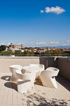 Terrace Junior Suite 806 At Hotel Ripa Roma