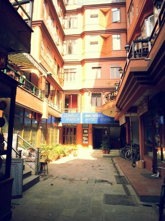 Hotel Access Nepal : Front Entrance