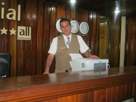 Hotel Colonial Cayo Coco : recepcion en el hotel colonial