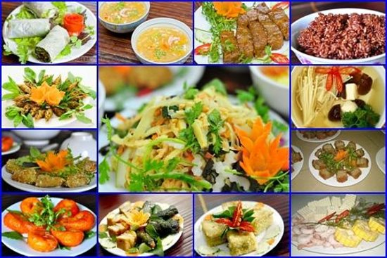 An Phuc vegetarian restaurant: Vegan dishes in An Phuc