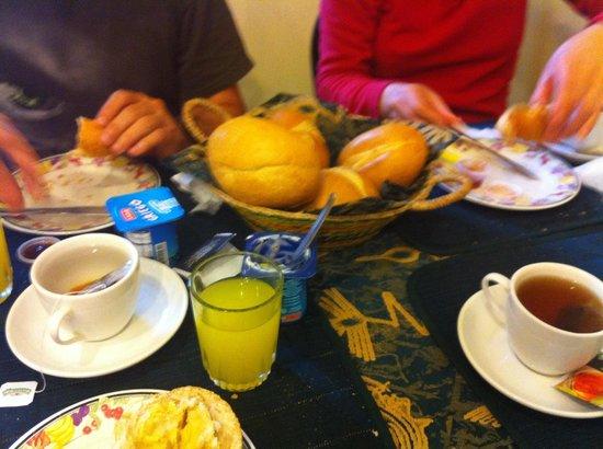 La Posada del Parque: Desayuno
