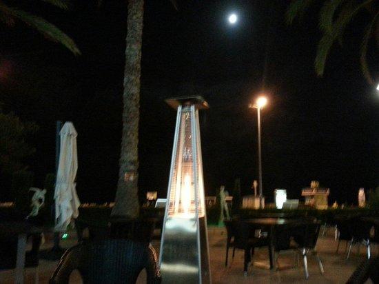 Gran Hotel Delfin : Terraza del hotel