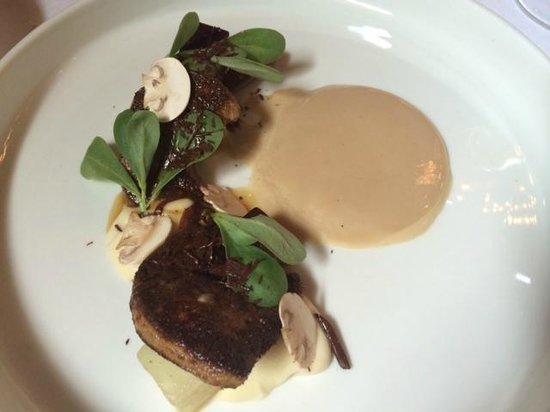 De Kruidfabriek by Lute: foie gras