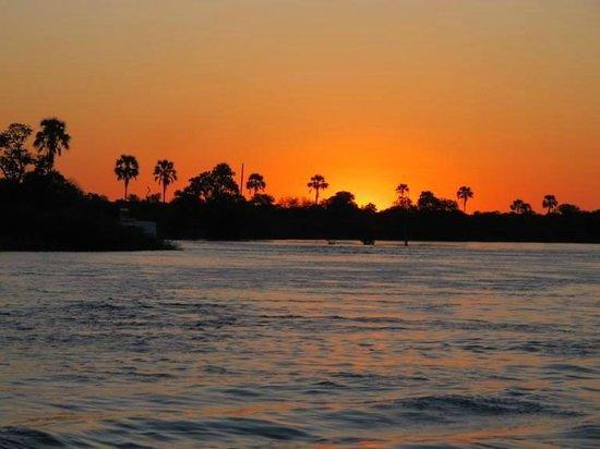 Victoria Falls River Lodge - Zambezi Crescent: Amazing Sunsets