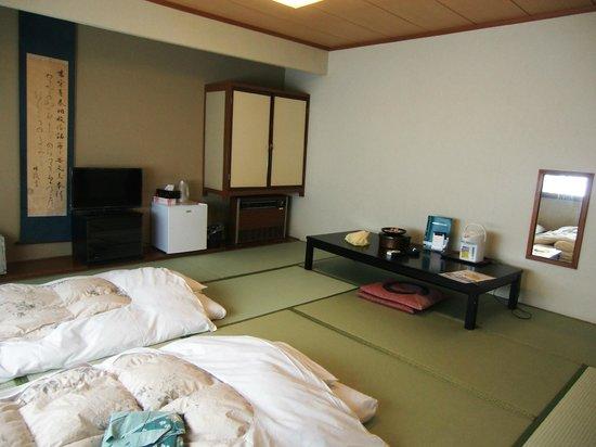 Nakanojo-machi, ญี่ปุ่น: お布団が敷いてありました