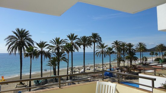 Ibiza Jet Apartments: The View from the balcony