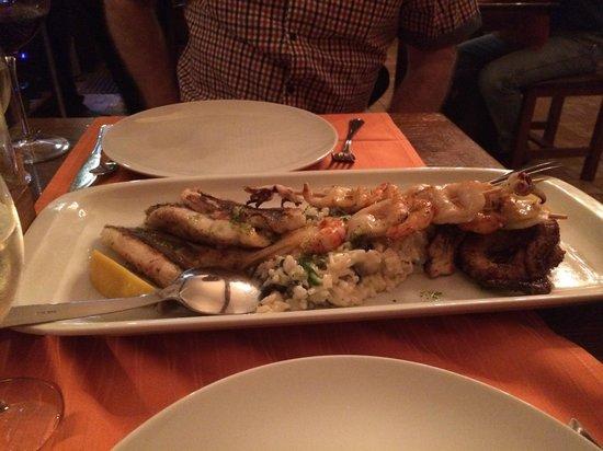 Dalmatino Konoba: Fish platter
