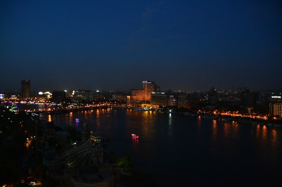 Sofitel Cairo El Gezirah: View from room towards the Nile