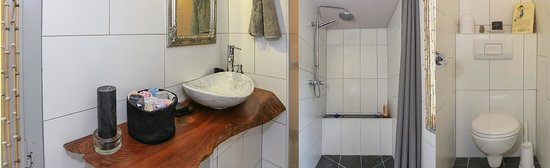A La Tour Carree : Wetroom direct access from bedrooms (2). Only one booking taken at a time!